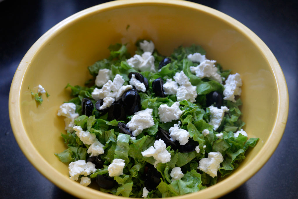 Как приготовить греческий салат-1