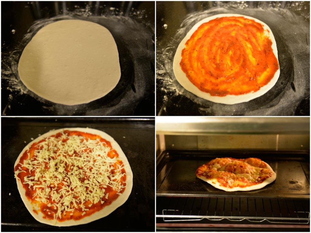 Итальянская Пицца Маргарита (3)