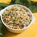 Восточный жареный рис с яйцом