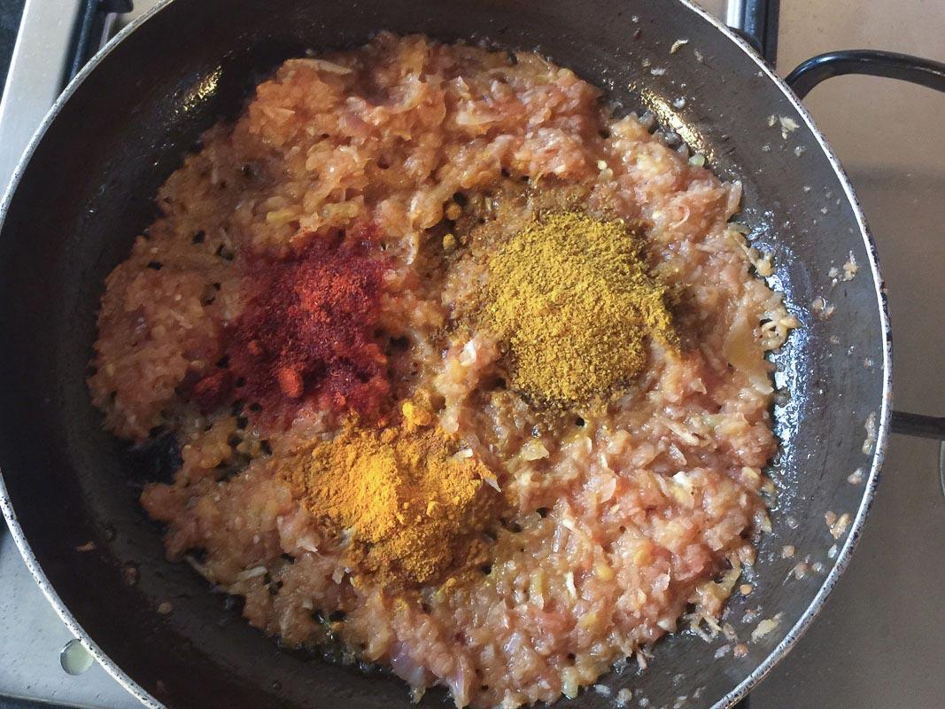 Креветки в карри рецепт