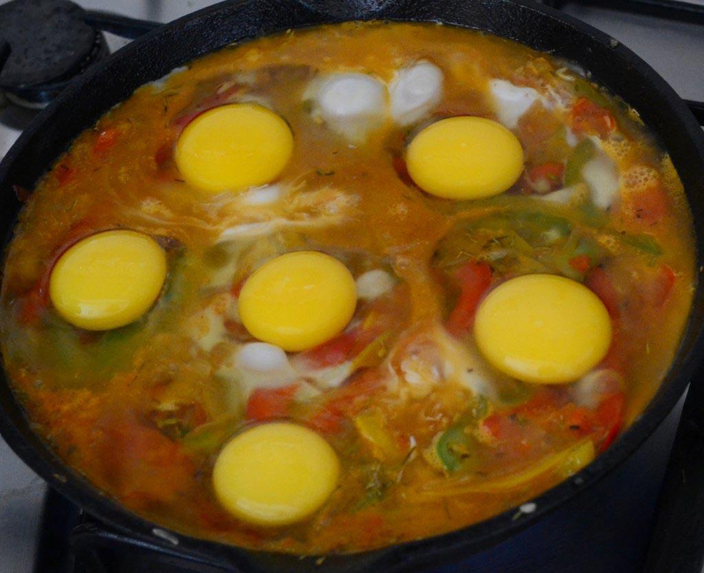 Омлет рецепт на сковороде