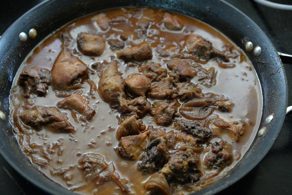 Рецепт курица в гранатовом соке