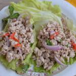 Салат из курицы Larb — рецепт с фото