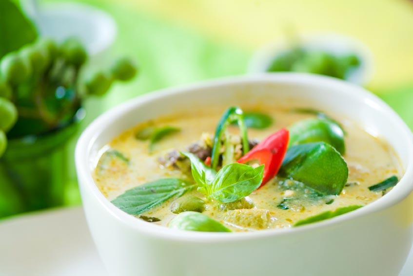 Тайский зеленый карри