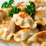 Вареники с картошкой и сыром по-польски