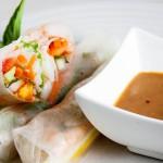 Вьетнамские роллы в рисовой бумаге