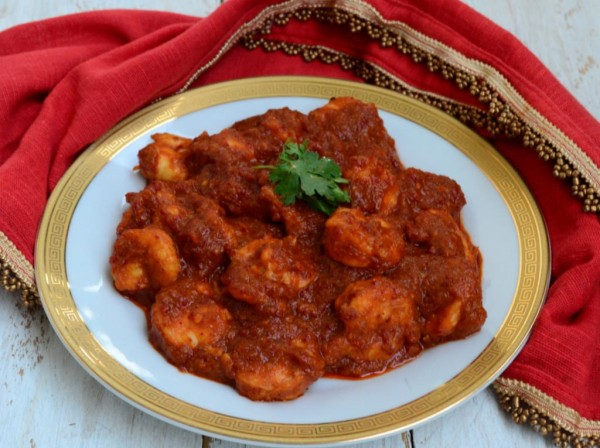 Креветки под соусом Самбал (Sambal) - рецепт с фото