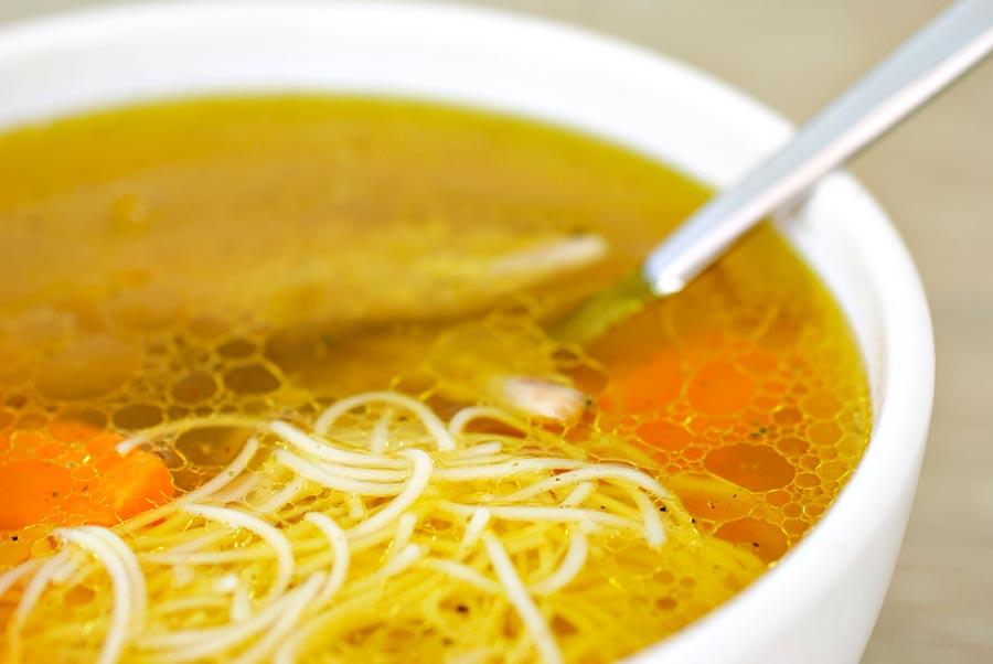 Рецепт супа с вермишелью и курицей с фото