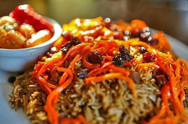 Рис с мясом по-афгански (Kabuli Pulao)