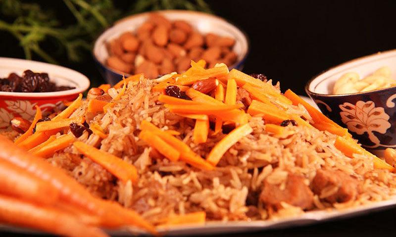 Рис с мясом по-афгански