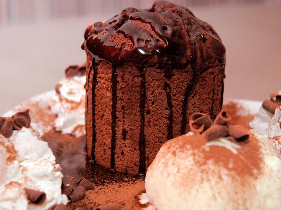 Рецепт кекса с какао Раджа