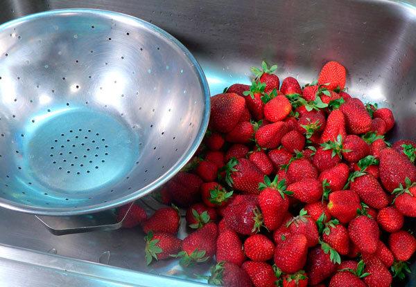 Варенье из клубники из целых ягод