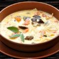 Суп с грибами и макаронами Миланзе