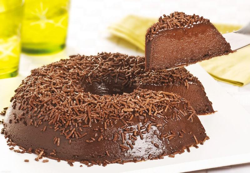 Шоколадный торт Бригадейро