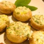 Грибы с сыром в духовке