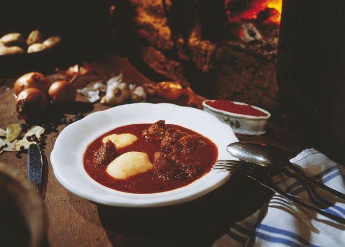 Суп-гуляш, австрийская кухня