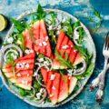 Рецепт арбуза на гриле по-французски