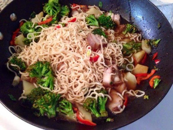 Домашний суп по-японски Рамен (5)