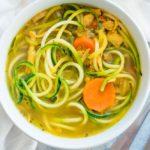 Домашний суп с куркумой и цукини
