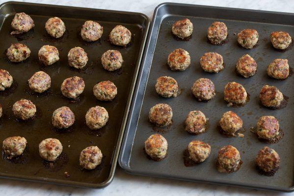 Фрикадельки по-итальянски в духовкой печи