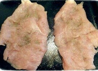 Отбивная куриная грудка