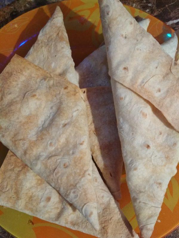 Треугольники из лаваша ПП
